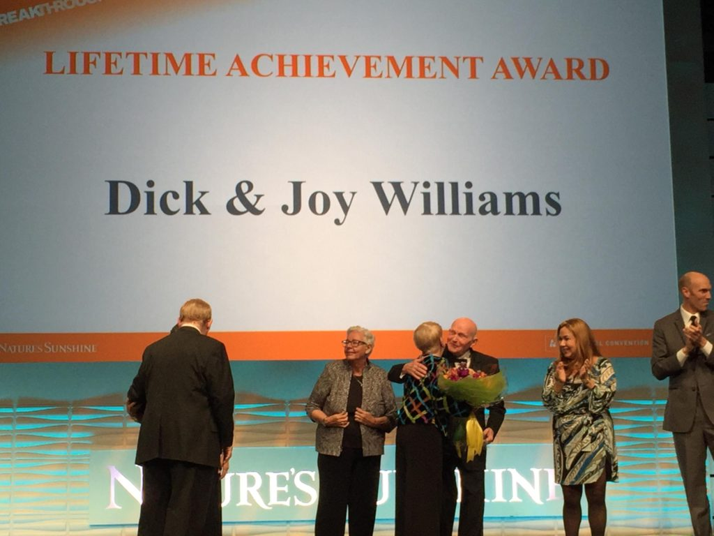 Nature's Sunshine Products | Lifetime Achievement | Dick & Joy Williams