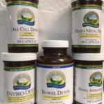 5 NSP Detox Products